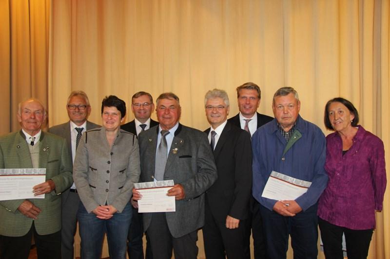 Beim CDU-Kreisparteitag am 21.Oktober 2017 in Rohrdorf wurden die verdienten CDU-Mitglieder Grom und Sieger für 40-jährige Treue zur CDU geehrt.